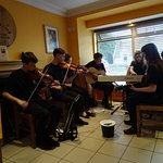 The teenage Ceilidh performers
