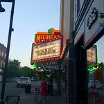 Michigan Theatre at night