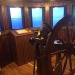 Simulation of piloting a ship through the bridges of Sturgeon Bay. Fun!