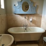 Large bath, luxury L'Occitane toiletries and hidden extras, soft warm towels