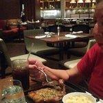 Restaurante Corvina & caña, exquisita comida..!!