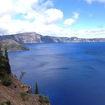 Crater Lake, it really is that blue!