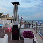 vista desde el bar terraza del hotel