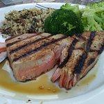 Overcooked tuna, chewy broccoli and Saallltty rice