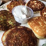 Delicious potato pancakes!