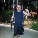 Meu marido pescando a noite....rsrsrs