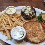 Lamb burger medium