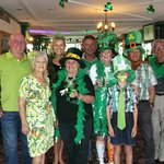 St Patricks Day at the Salty Dog Pub celebrating my Birthday...so much fun