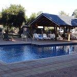 Swimming Pool, Kalbarri Tudor Holiday Park, Kalbarri WA