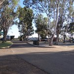 Caravan & Camp sites, Kalbarri Tudor Holiday Park, Kalbarri WA
