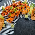 Coal Fired Peri Peri Prawns