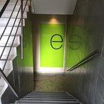 Down stairs in flinders lane Melbourne