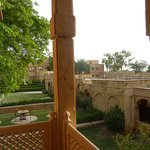 View from first floor room balcony - Gorbandh Palace Jaisalmer