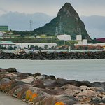port taranaki and paritutu rock