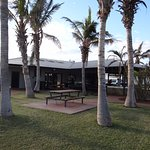Camp Kitchen & BBQ area, Exmouth Cape Holiday Park, Exmouth WA