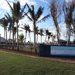 Entrance to Exmouth Cape Holiday Park, Exmouth WA