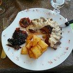 Magret de canard, sauce aux figues