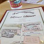 menu and mug
