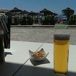 Beers on burriana beach.