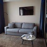 espace salon, chambre de luxe