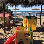 Giochi nella spiaggia