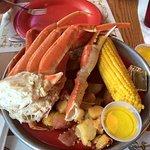 Crab Legs, Corn and Tators!