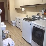 Laundry facilities - borrow as necessary