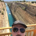 Corinth Canal Foto