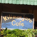 Kilimanjaro Cafe in the heart of Vilanculos