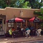 Palacio Cafe in Santa Fe, New Mexico!
