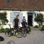 My two sons and I stayed as part of our ride from London to Paris.  Marie and her husband are gr