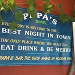 Photo de Papas Bar