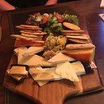 Fantastic cheese board