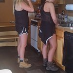 my girls in the kitchen #4