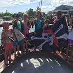 The Little Mates and their Jolly Roger on Pirate Adventures August 1, 2016.