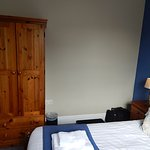 Our bedroom showing wardrobe.