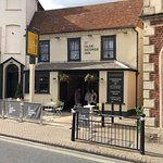 The Ye Olde George Inn looking fantastic after its refurb!!!! Love this pub!!!!