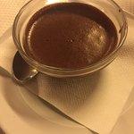 Chocolate mousse, v good!