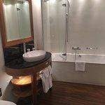 Cuarto de baño del Hotel Des Balances