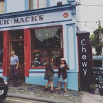 Chewy is right next door to the famous Dick Macks pub