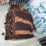 choc cake made fresh