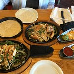 This is their two for $20 chicken fajitas.