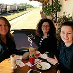 Catch up with friends at the Historic Railway Cafe