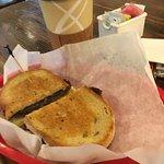 Breakfast #1 on rye bread