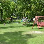 Play area off tarred road