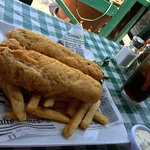 ye olde fish and chips from Ye Olde Kings Head Pub