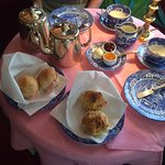 Spode china for the English afternoon tea