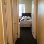Room 211 - Sorry should have made the bed!