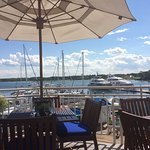 Gorgeous Sunday lunch in the deck at Latitudes.
