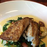 Pan roasted Atlantic grouper